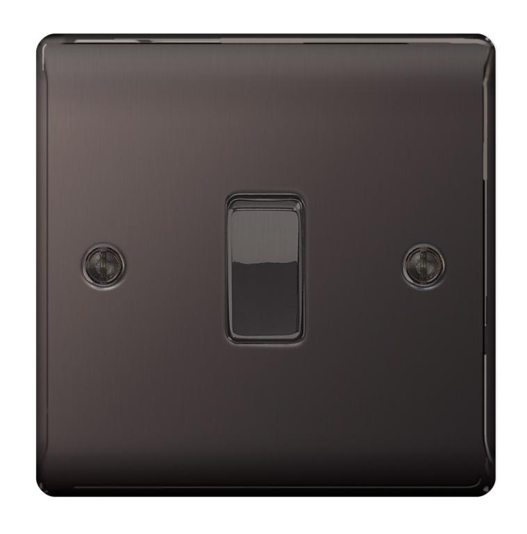BG Nexus Metal 10ax Plate - Black Nickel