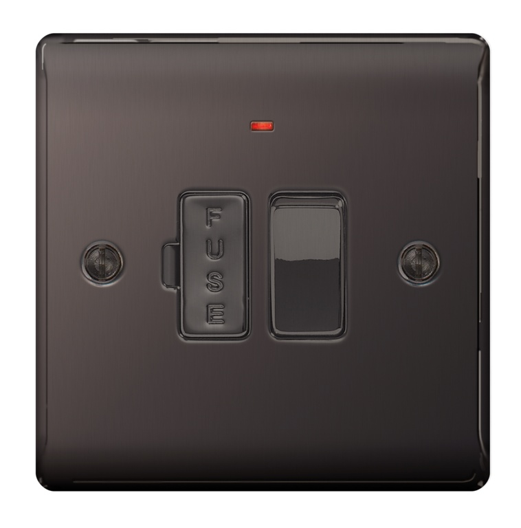 BG 13a Switched Fused Connection Units - Neon