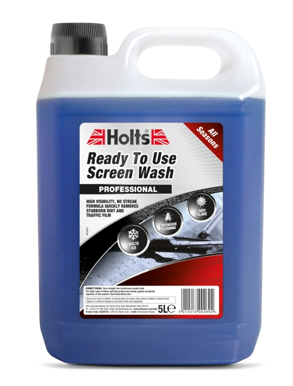 Holts Ready to Use Screen Wash - 5L