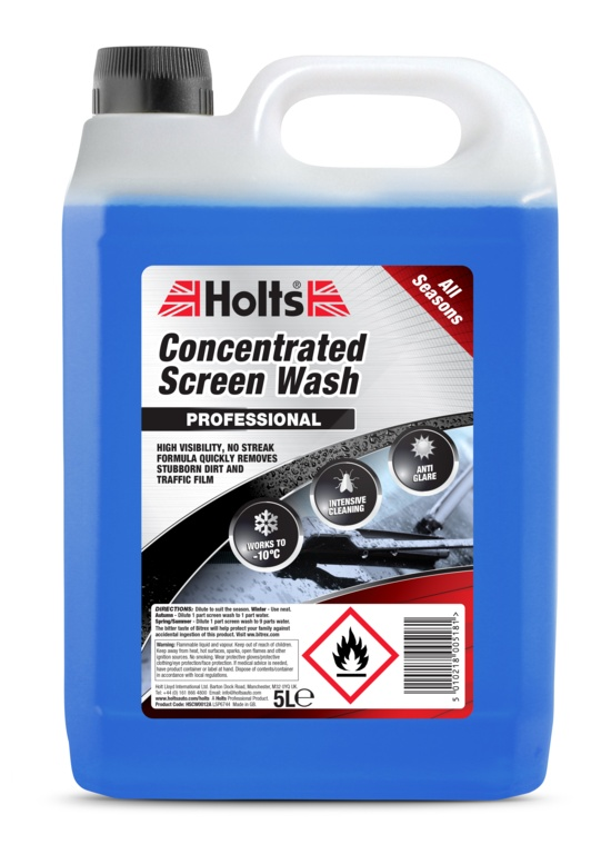 Holts Concentrated Screen Wash - 5L