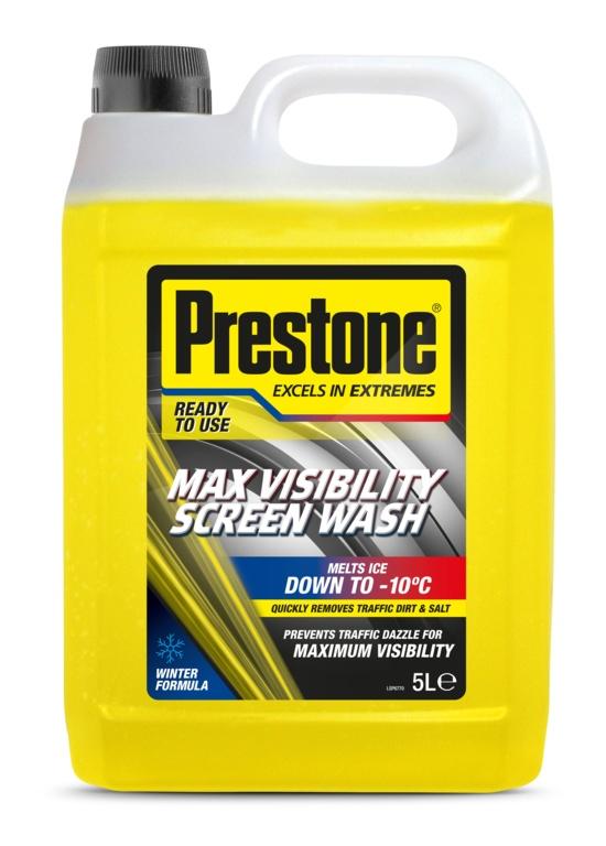 Prestone Max Visibility Screen Wash Winter