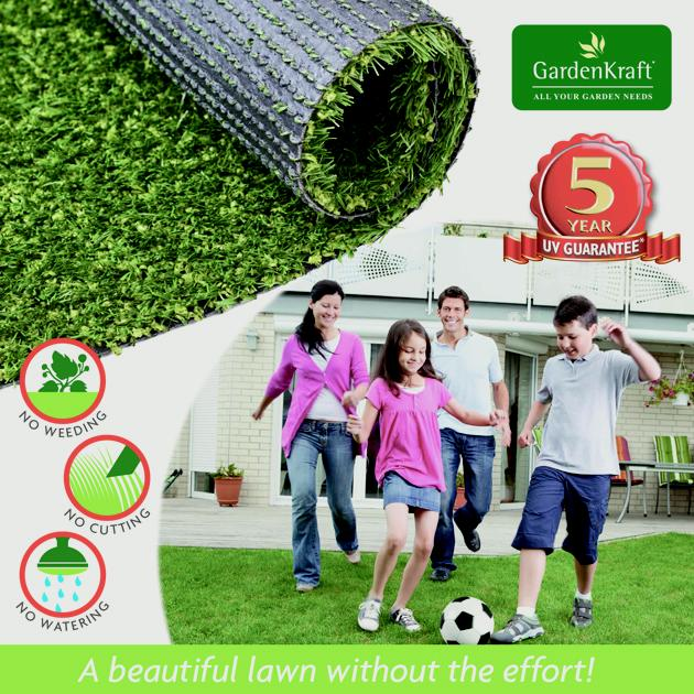 Benross Artificial Grass 4m x 1m - 15mm