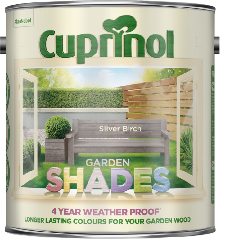 Cuprinol Garden Shades 2.5L - Silver Birch