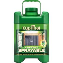 Cuprinol Sprayable Fence Treatment 5L Silver Copse