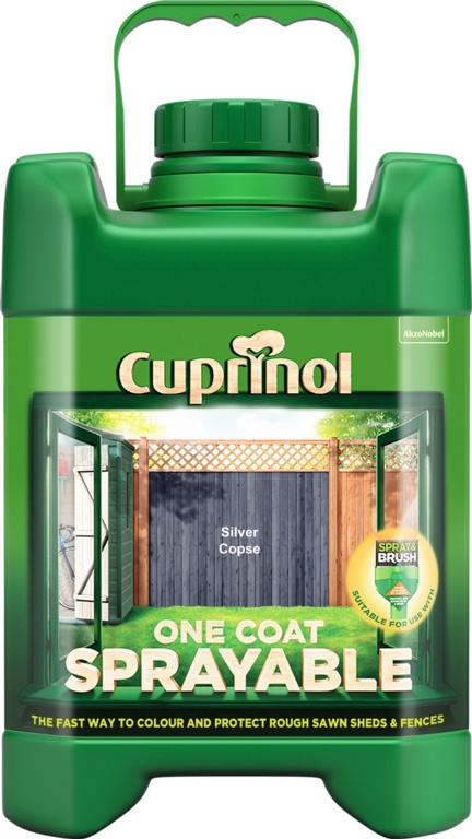 Cuprinol Sprayable Fence Treatment 5L - Silver Copse