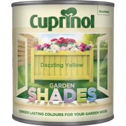 Cuprinol Garden Shades 1L Dazzling Yellow