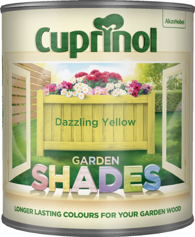 Cuprinol Garden Shades 1L - Dazzling Yellow