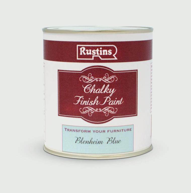 Rustins Chalky Finish 250ml - Blenheim Blue