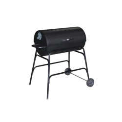 Pagoda Oil Drum BBQ With Cover