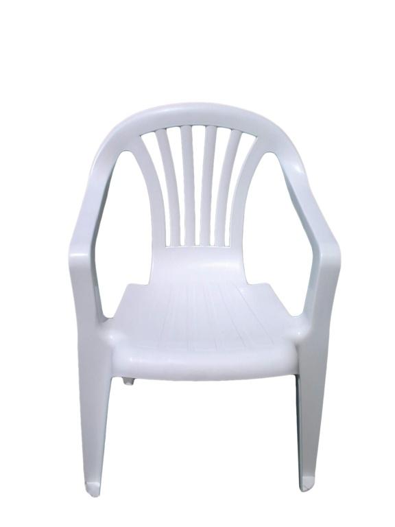 SupaGarden Plastic Childs Chair - White