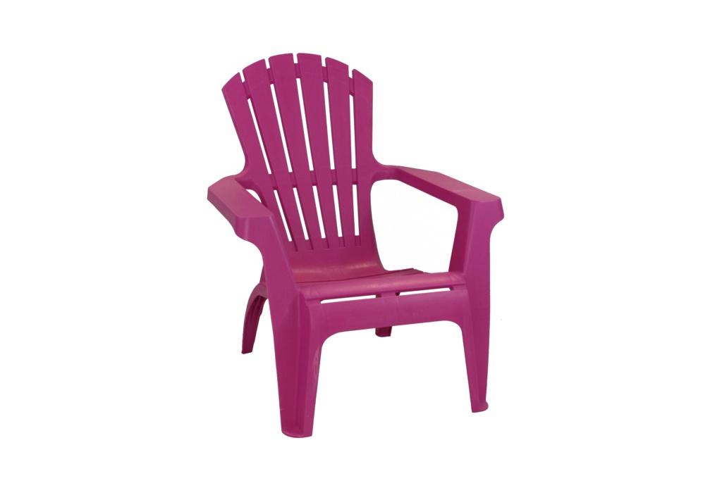 SupaGarden Plastic Stackable Armchair - Pink