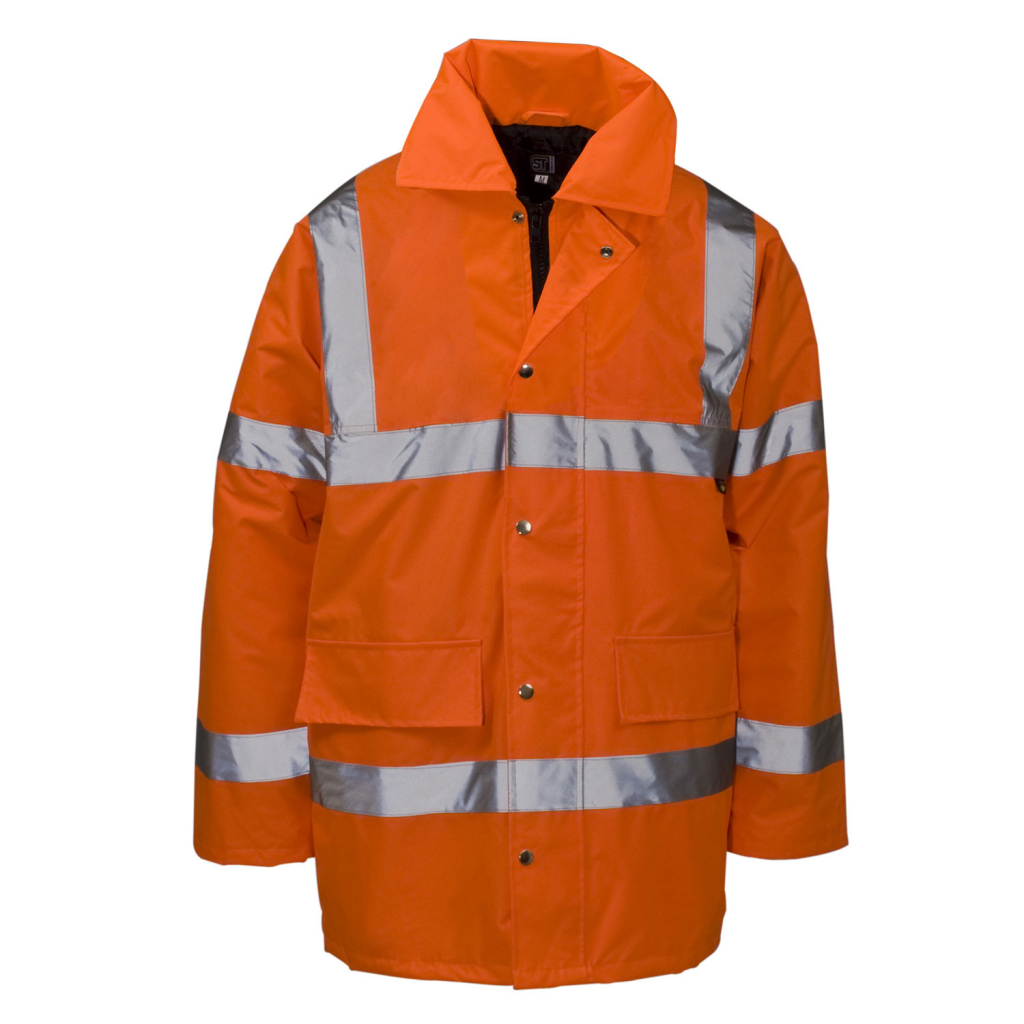 Supertouch Hi Vis Jacket Orange Standard - M