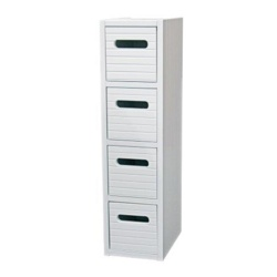 Blue Canyon Modena 4 Drawer Cabinet