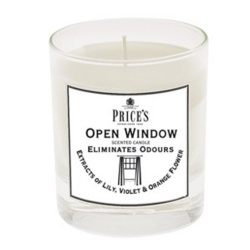 Price's Candles Scented Jar - Open Window