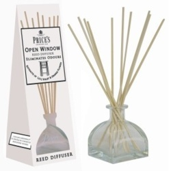 Price's Candles Reed Diffuser - Open Window