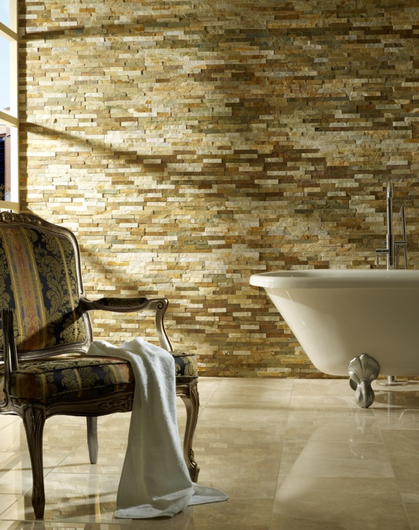 Verona Split Face Wall Tile - Oyster