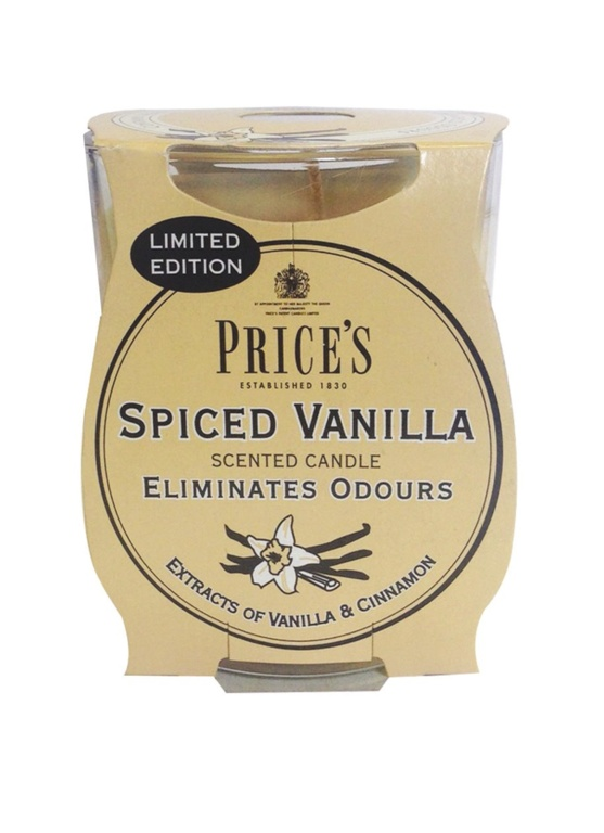 Price's Candles Limited Edition Jar - Spiced Vanilla
