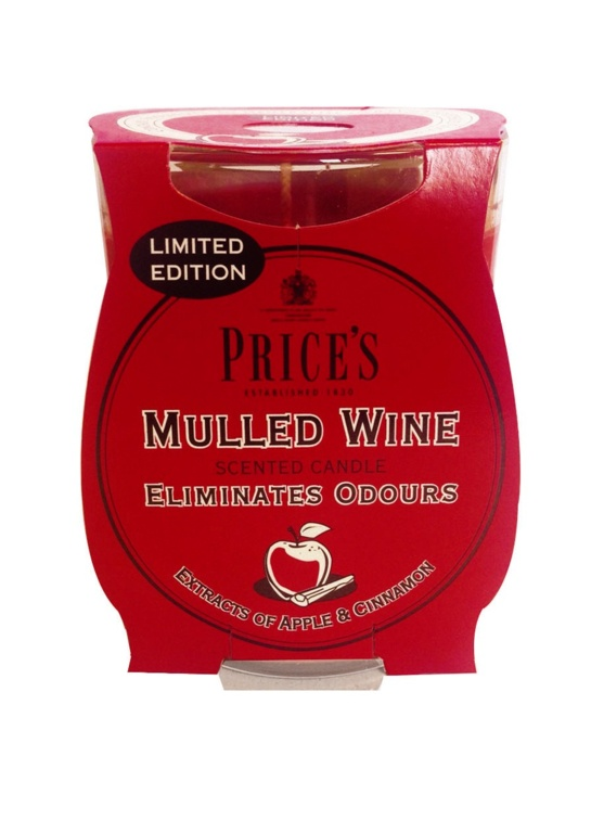 Price's Candles Limited Edition Jar - Mulled Wine