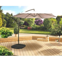 Pretty Garden Furniture  Stax Trade Centres With Engaging Pagoda Over Hang Parasol Beige With Breathtaking Building A Walled Garden Also Trentham Gardens Opening Hours In Addition Fire Pit In Garden And Screening Garden Ideas As Well As Buy Garden Hose Additionally Large Garden Wall Clocks From Staxtradecentrescouk With   Engaging Garden Furniture  Stax Trade Centres With Breathtaking Pagoda Over Hang Parasol Beige And Pretty Building A Walled Garden Also Trentham Gardens Opening Hours In Addition Fire Pit In Garden From Staxtradecentrescouk