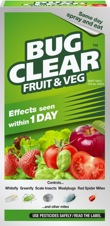 BugClear Fruit & Veg - 250ml