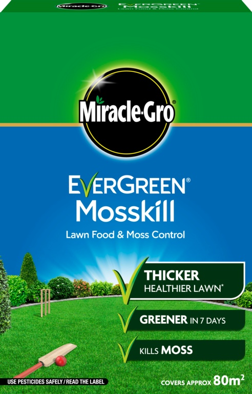 Miracle-Gro Evergreen Mosskill With Lawn Food - 80m2