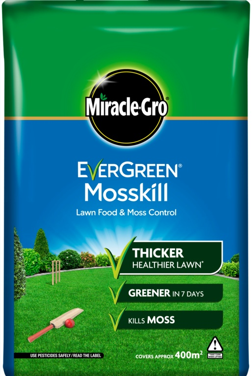 Miracle-Gro Mosskill With Lawn Food - 400m2