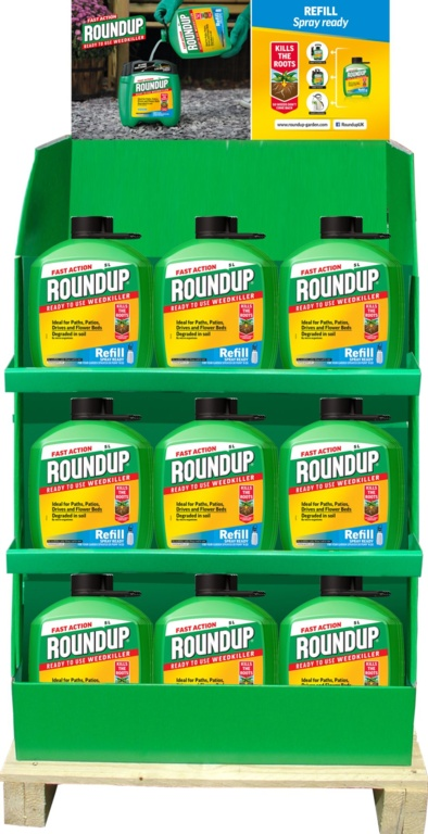 Roundup Fast Acting Pump N Go Refill - Display Unit of 44