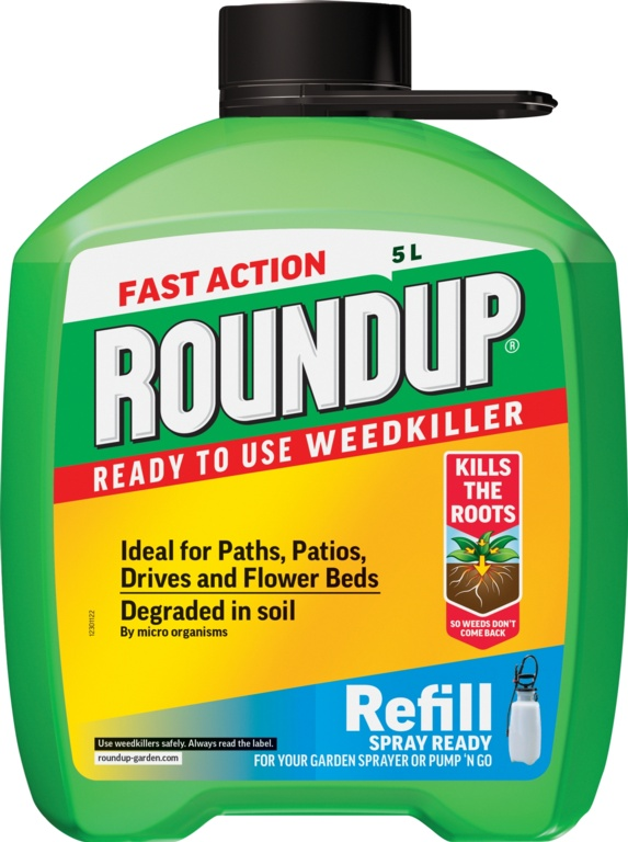 Roundup Fast Acting Pump N Go Refill - 5L