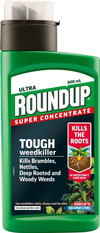 Roundup Ultra Weedkiller - 500ml