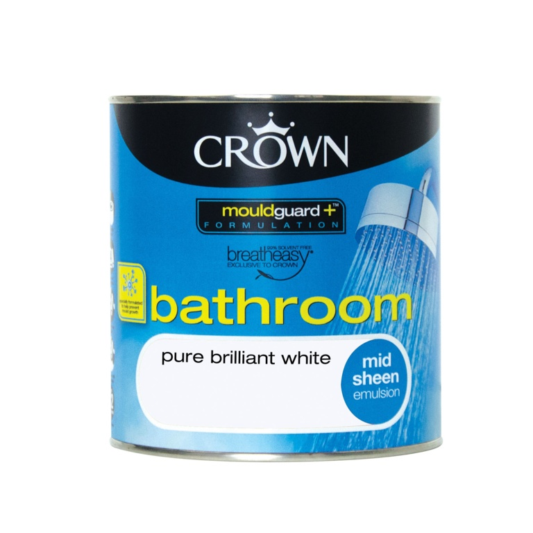 Crown Bathroom Mid Sheen 1l Stax Trade Centres