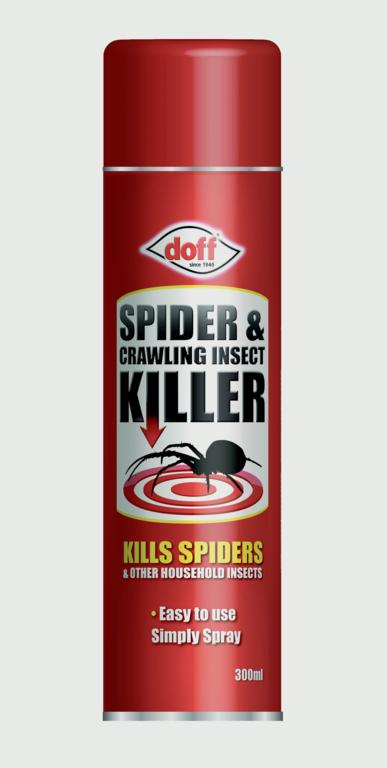 Doff Spider & Crawling Insect Killer - 300ml