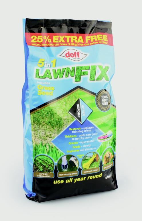 Doff 5 in 1 Lawn Fix - 2.5kg