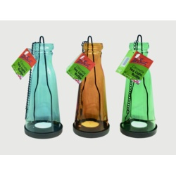 The Buzz Citronella Tea Light Bottle