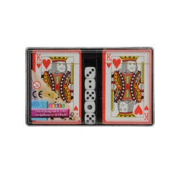 Edco Playing Cards And Dice