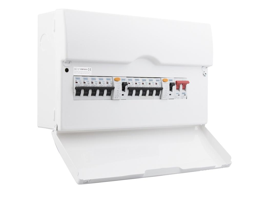 BG Dual RCD Pre-Pop Consumer Unit - 16 Module