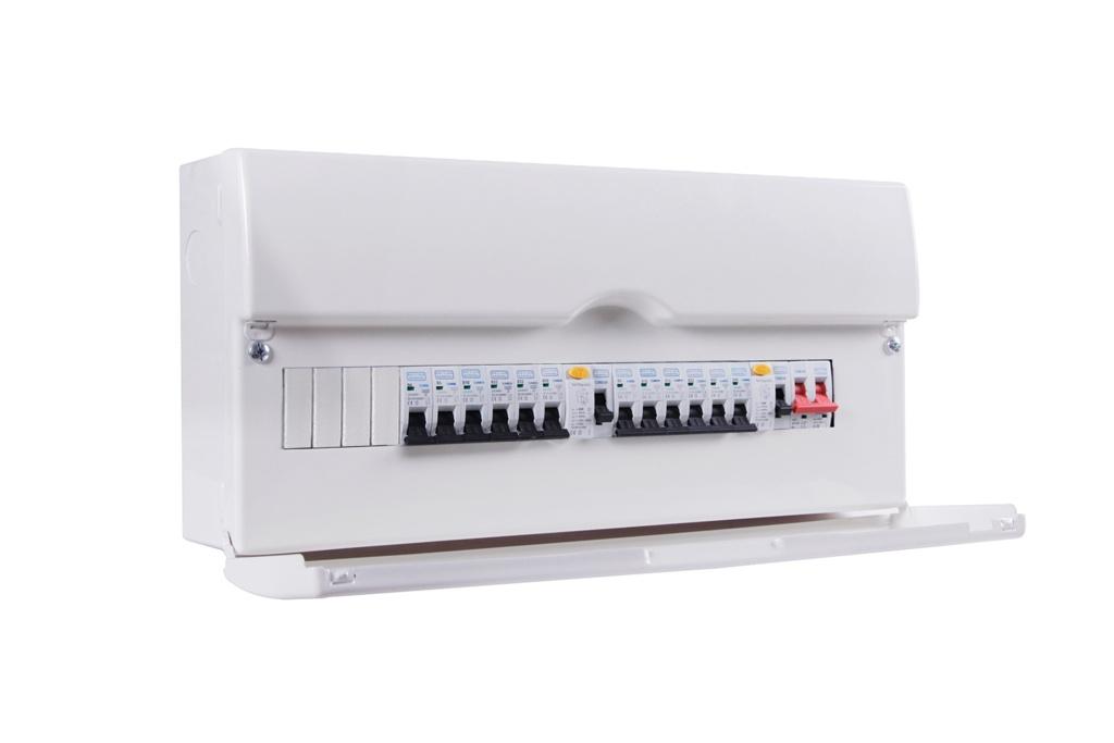 BG Dual RCD Pre-Pop Consumer Unit - 22 Module