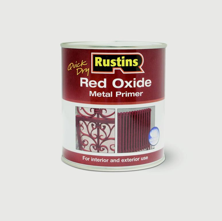 Rustins Quick Drying Red Oxide Primer - 500ml