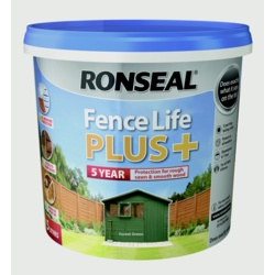 Ronseal Fence Life Plus 5L Forest Green