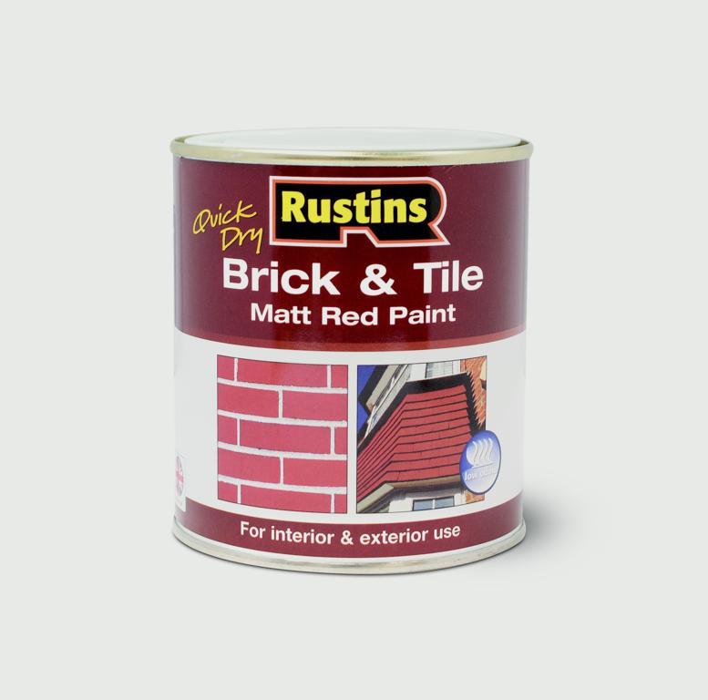 Rustins Quick Drying Brick & Tile - 250ml
