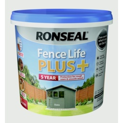 Ronseal Fence Life Plus 5L Slate
