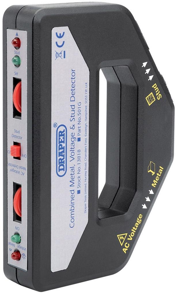 Draper Combined Metal, Voltage And Stud Detector