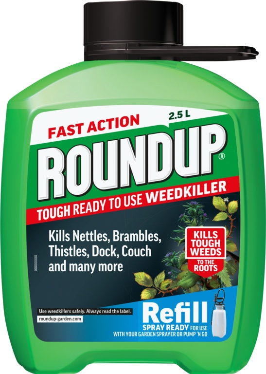 Roundup Tough Refill - 2.5L