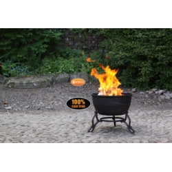 Gardeco Cast Iron Fire Bowl