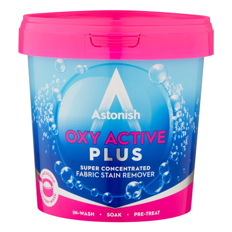 Astonish Oxi Active Fabric Plus Stain Remover - 500g