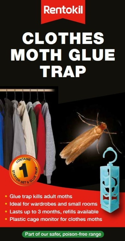 Rentokil Clothes Moth Glue Trap - Single