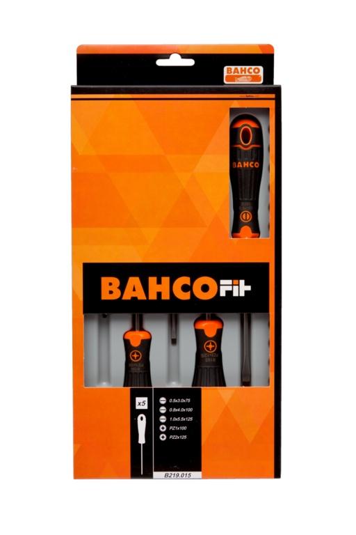 Bahco Bahcofit Screwdriver Set - 5 Piece