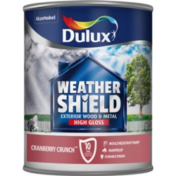 Dulux Weathershield Exterior Gloss 750ml Cranberry Crunch