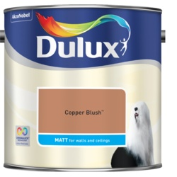 Dulux Standard Matt 2.5L Copper Blush