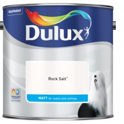 Dulux Standard Matt 2.5L Rock Salt