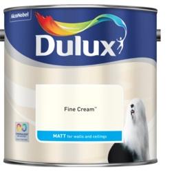 Dulux Standard Matt 2.5L Fine Cream